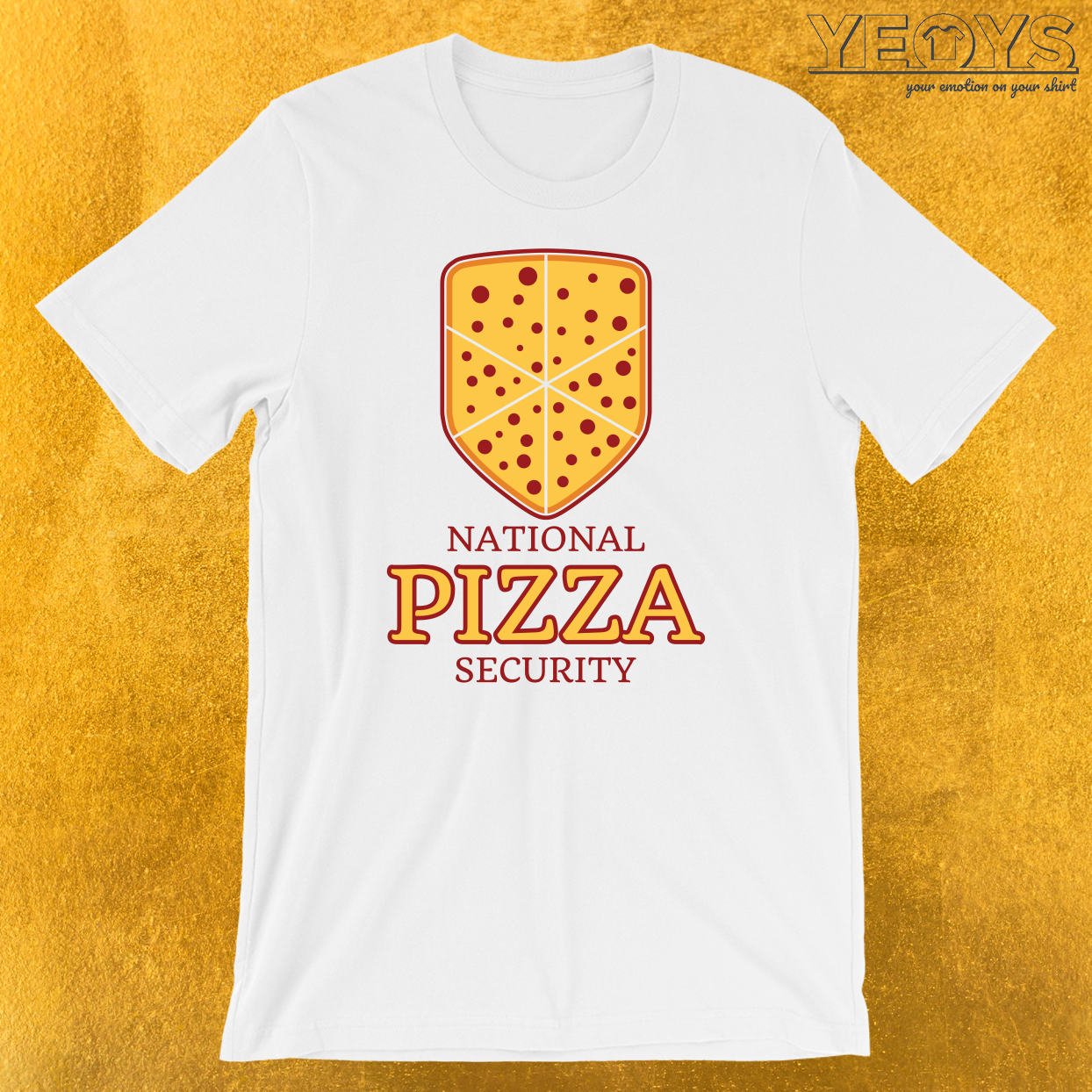 National Pizza Security T-Shirt