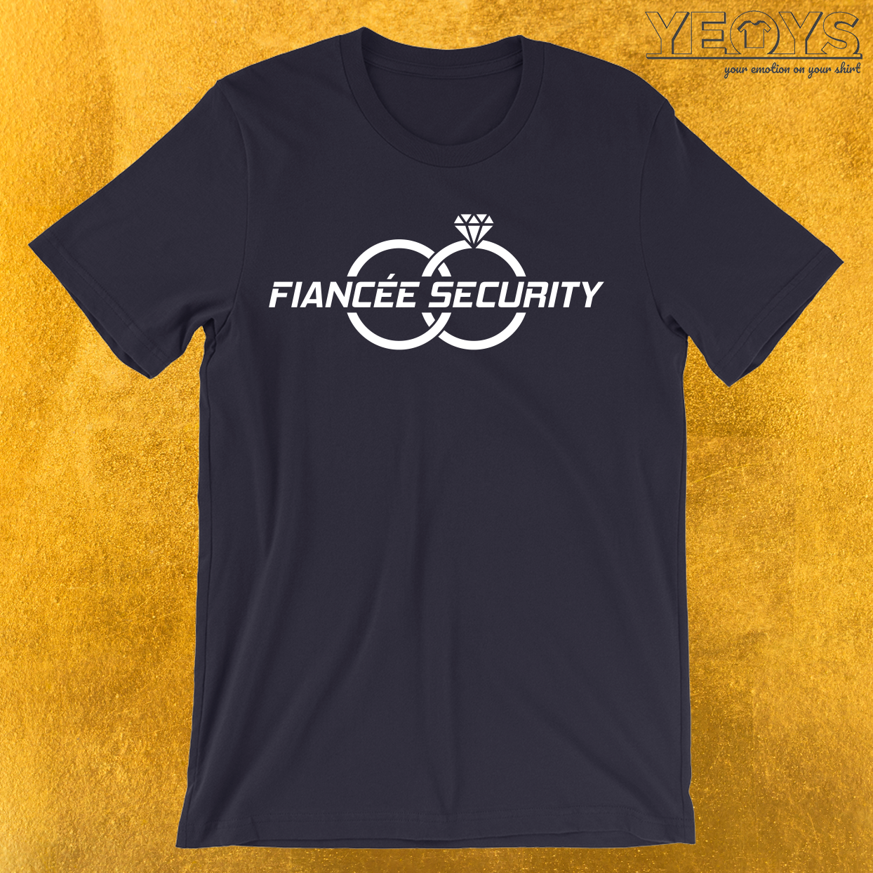 Fiancée Security T-Shirt