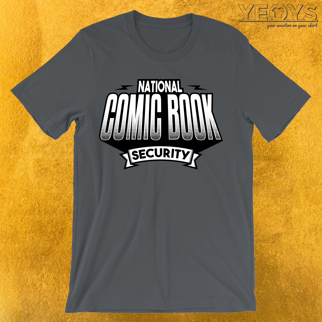 National Comic Book Security T-Shirt