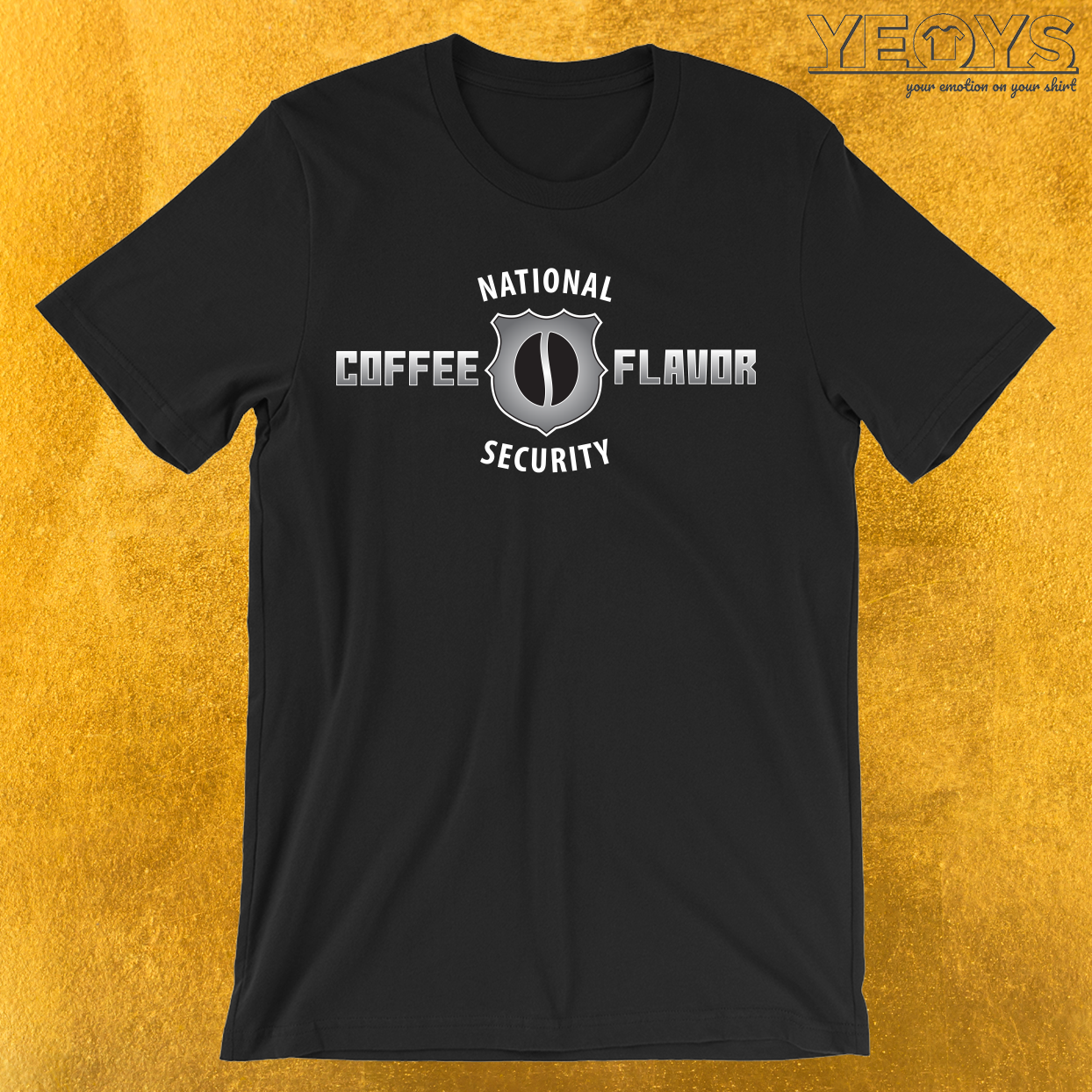 National Coffee Flavor Security T-Shirt