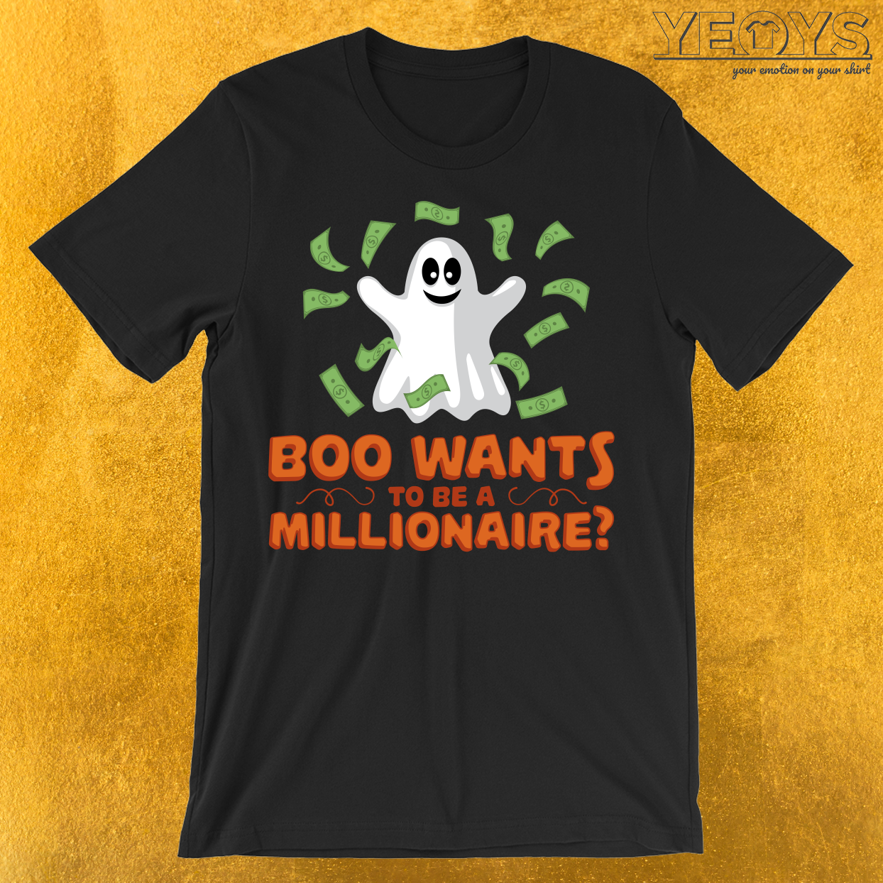 Boo Wants To Be A Millionaire T-Shirt