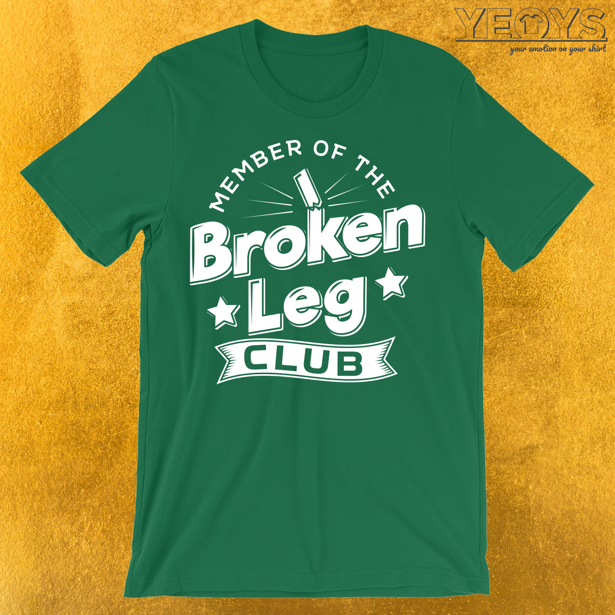 Member Of The Broken Leg Club T-Shirt