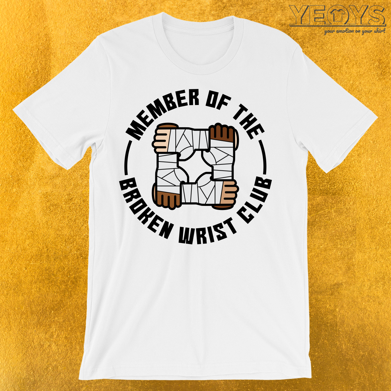 Member Of The Broken Wrist Club T-Shirt