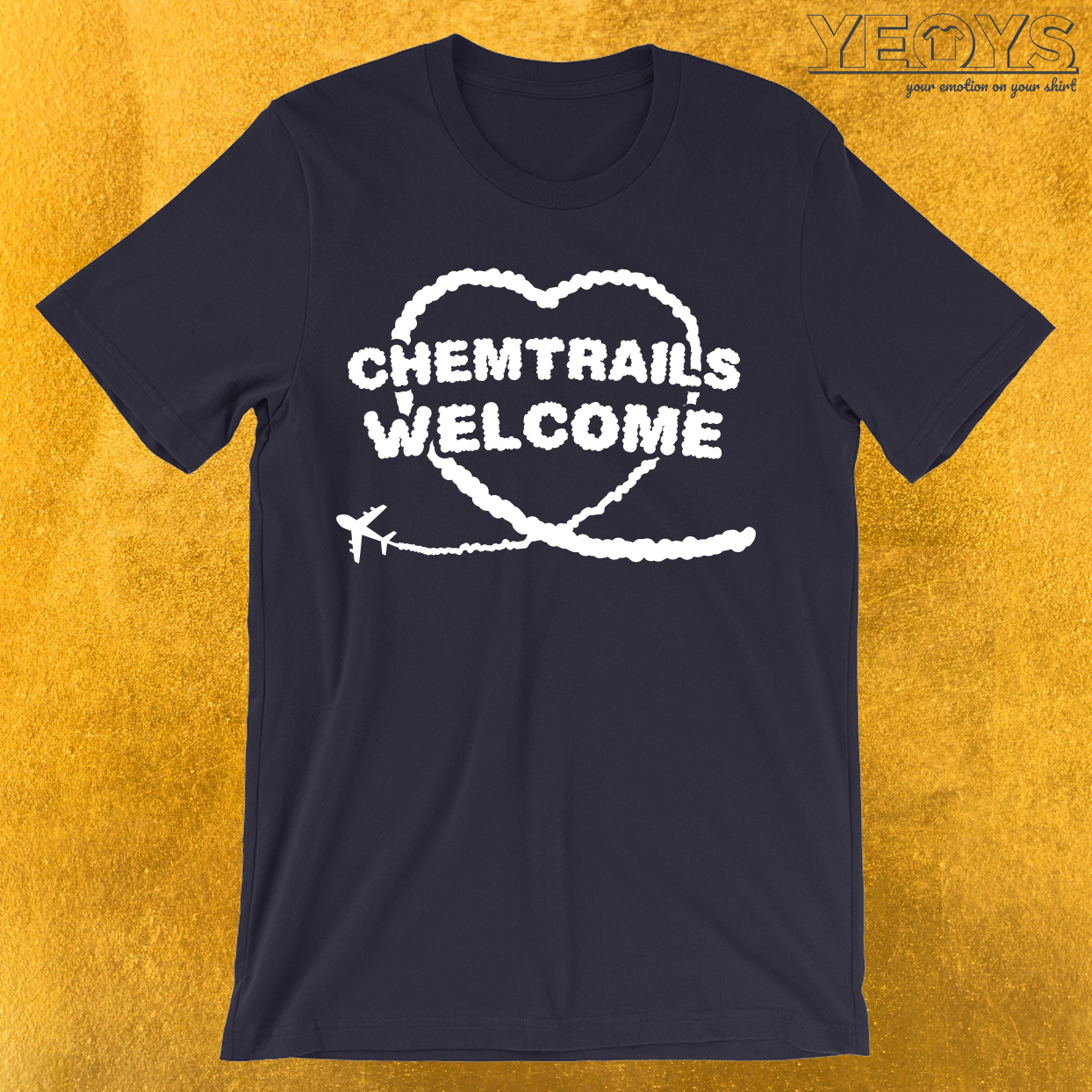 Chemtrails Welcome T-Shirt