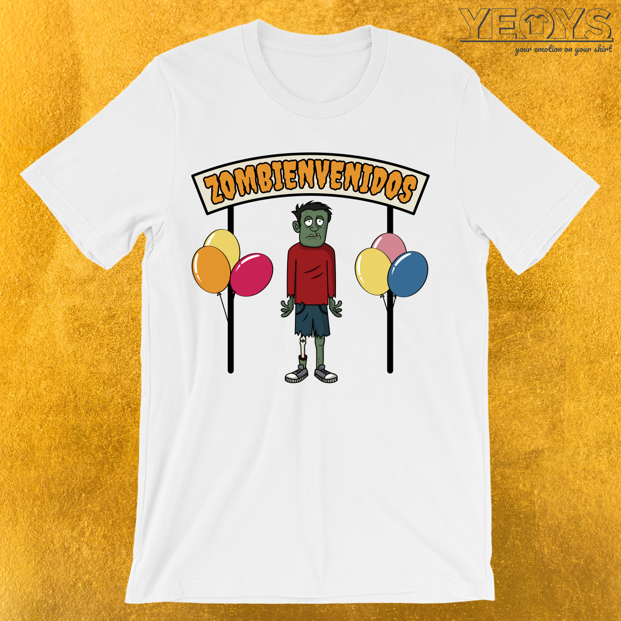 Zombienvenidos To The Party T-Shirt