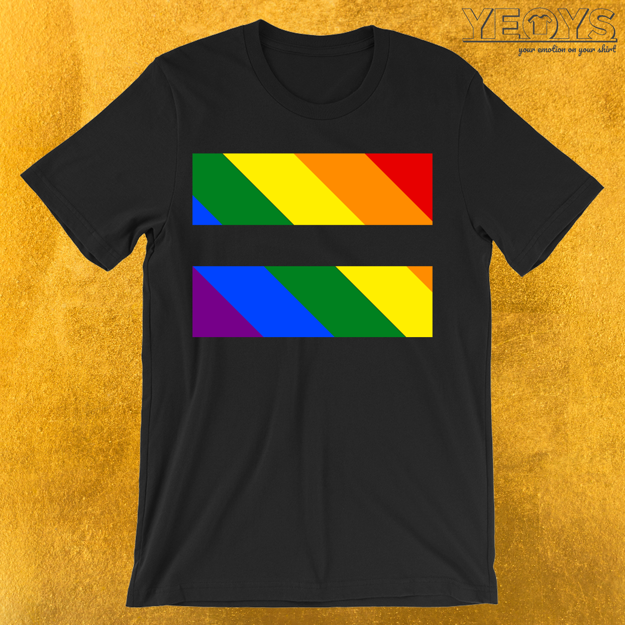 LGBTQ Equal Sign T-Shirt