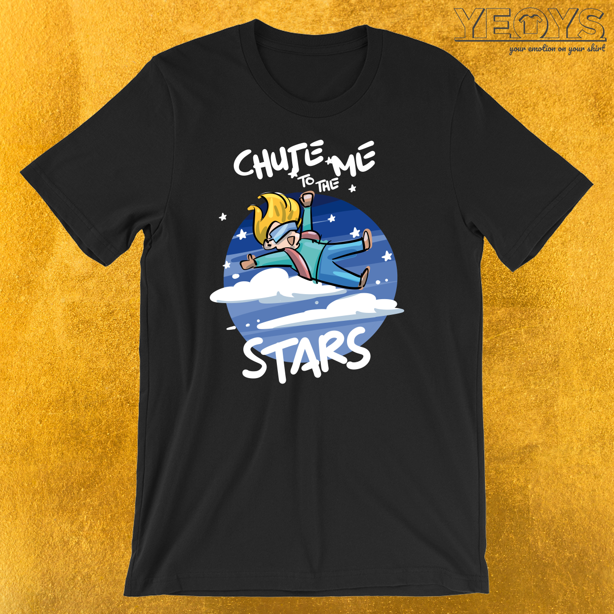 Chute Me To The Stars Free Fallers T-Shirt
