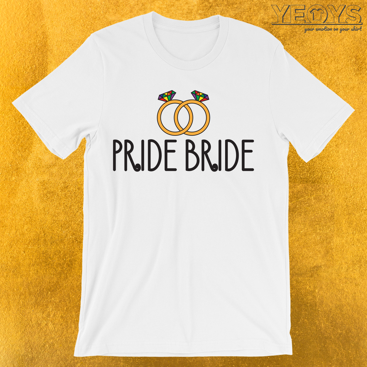 Pride Bride T-Shirt
