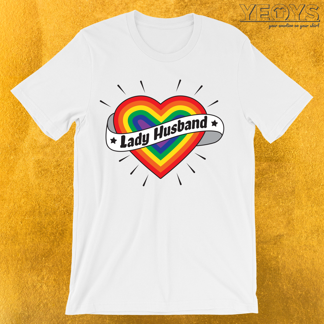 Lady Husband T-Shirt