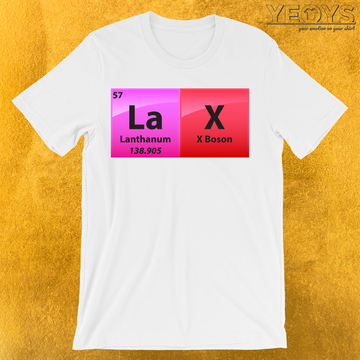 Lax Periodic Table Of Elements T-Shirt