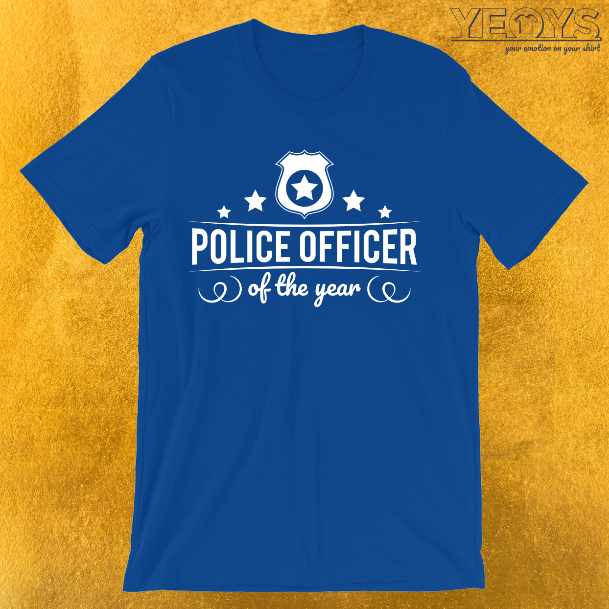 Police Officer Of The Year T-Shirt