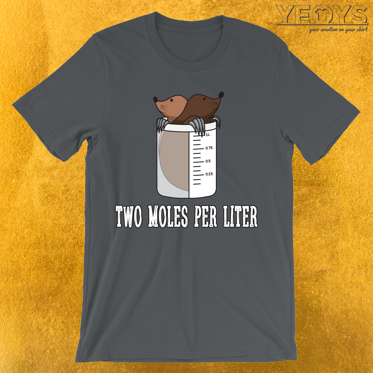 Two Moles Per Liter T-Shirt