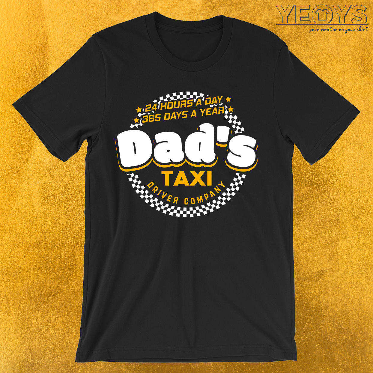 Dad's Taxi Driver Company T-Shirt