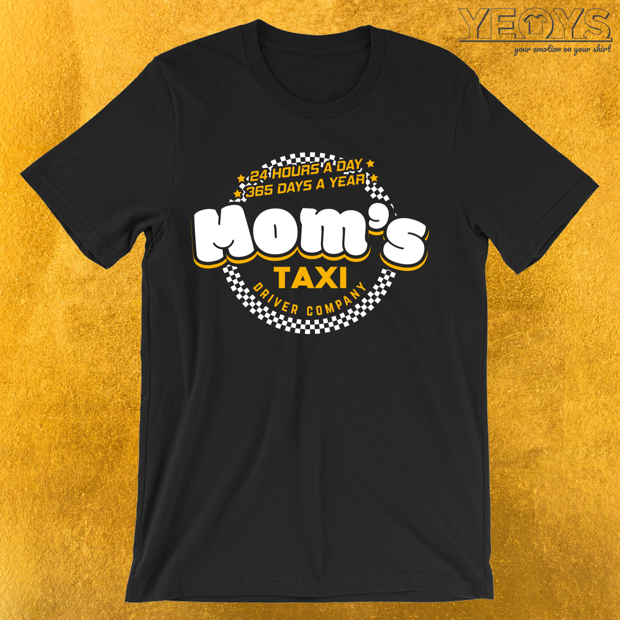 Mom's Taxi Driver Company T-Shirt