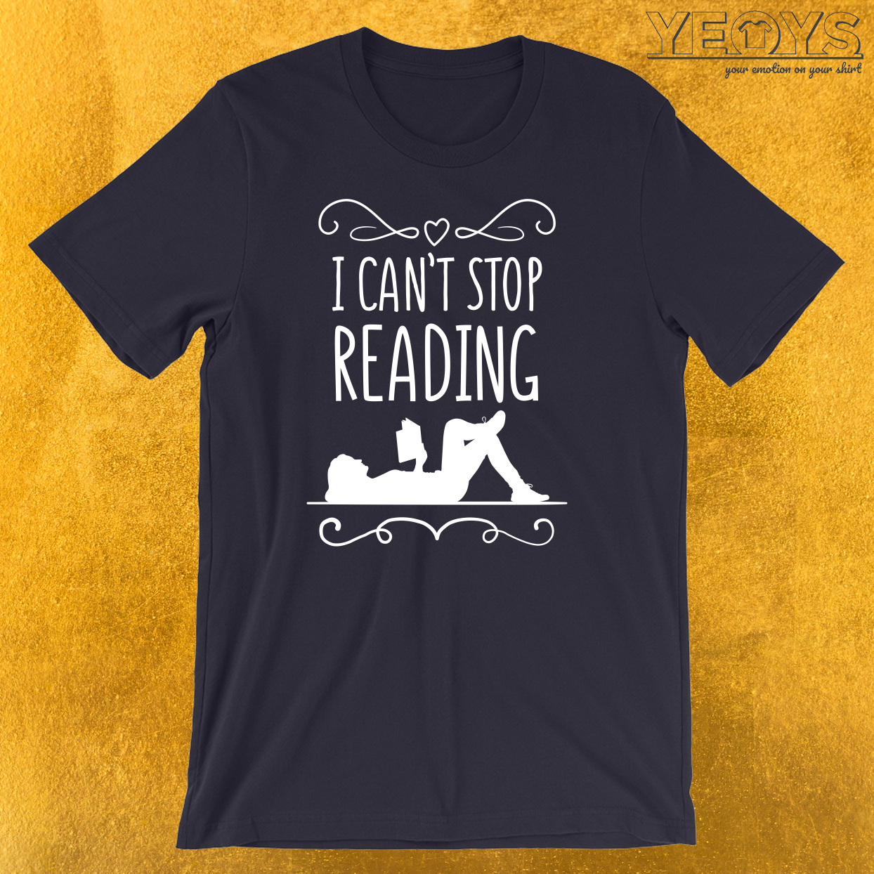 I Can't Stop Reading Introverts T-Shirt