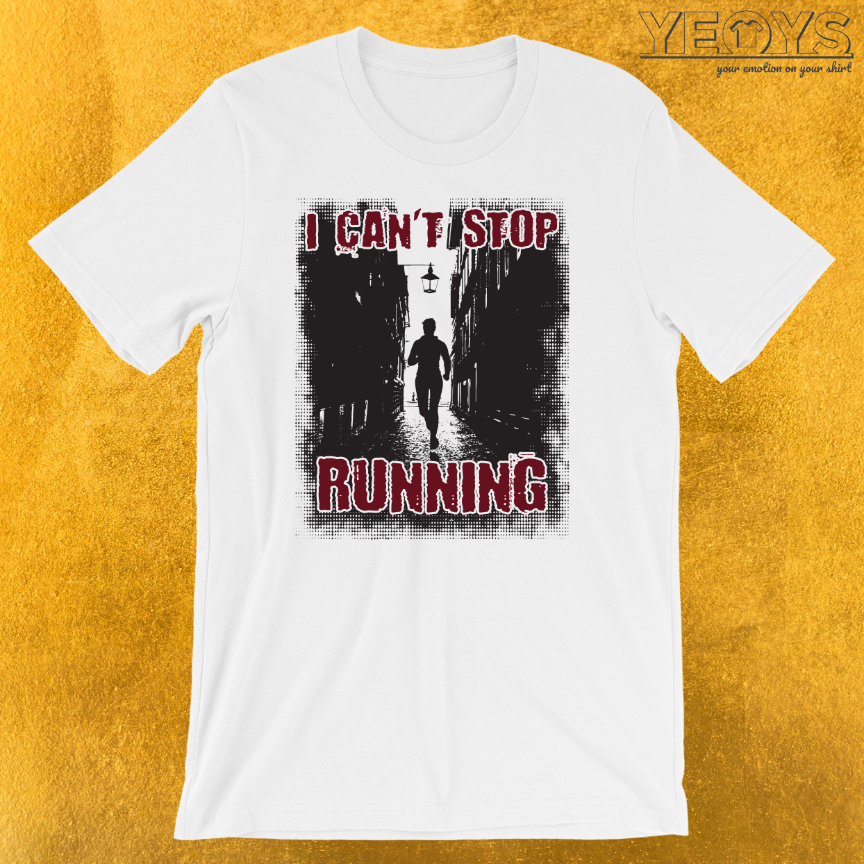 I Can't Stop Running Introverts T-Shirt