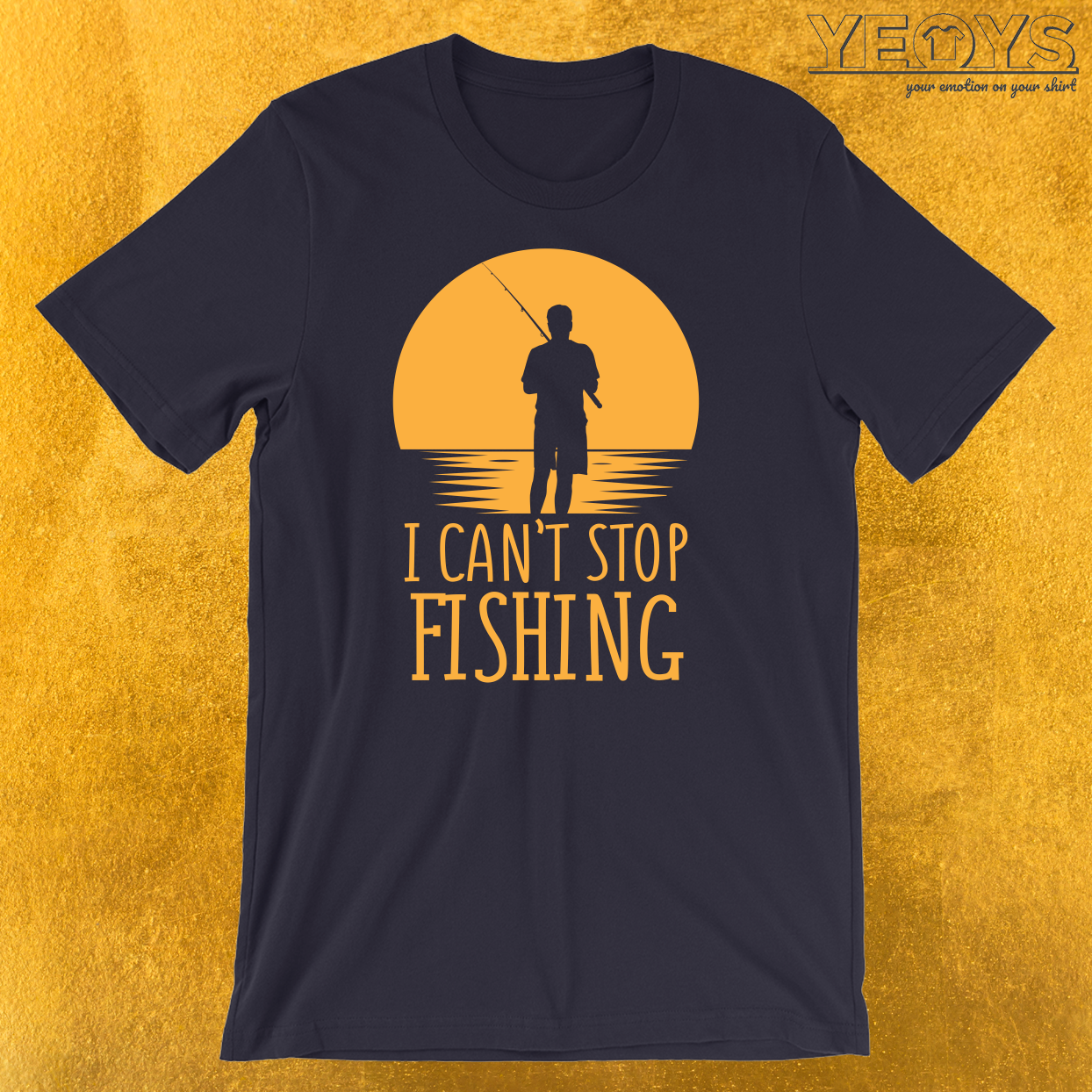 I Can't Stop Fishing Introverts T-Shirt