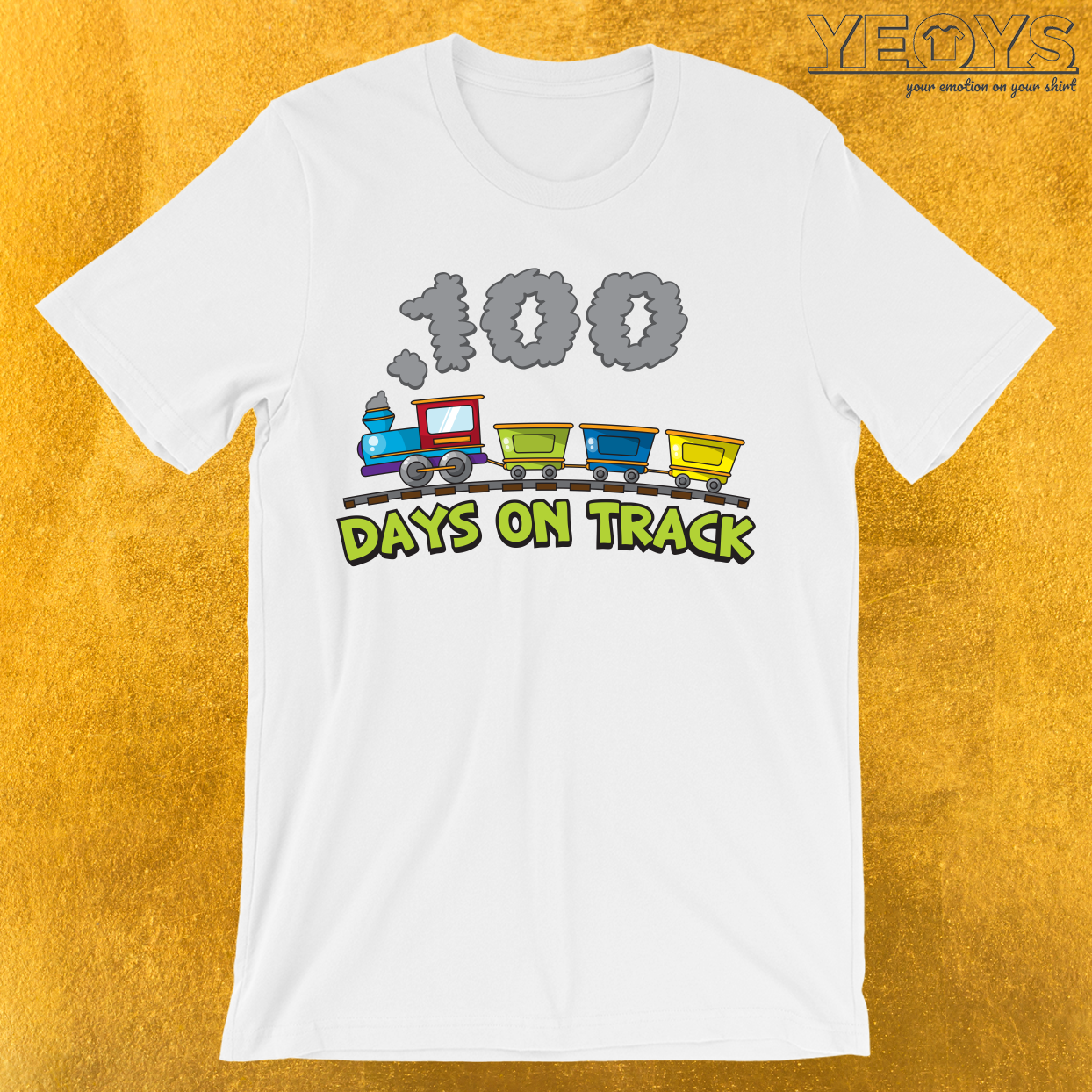 100 Days On Track T-Shirt