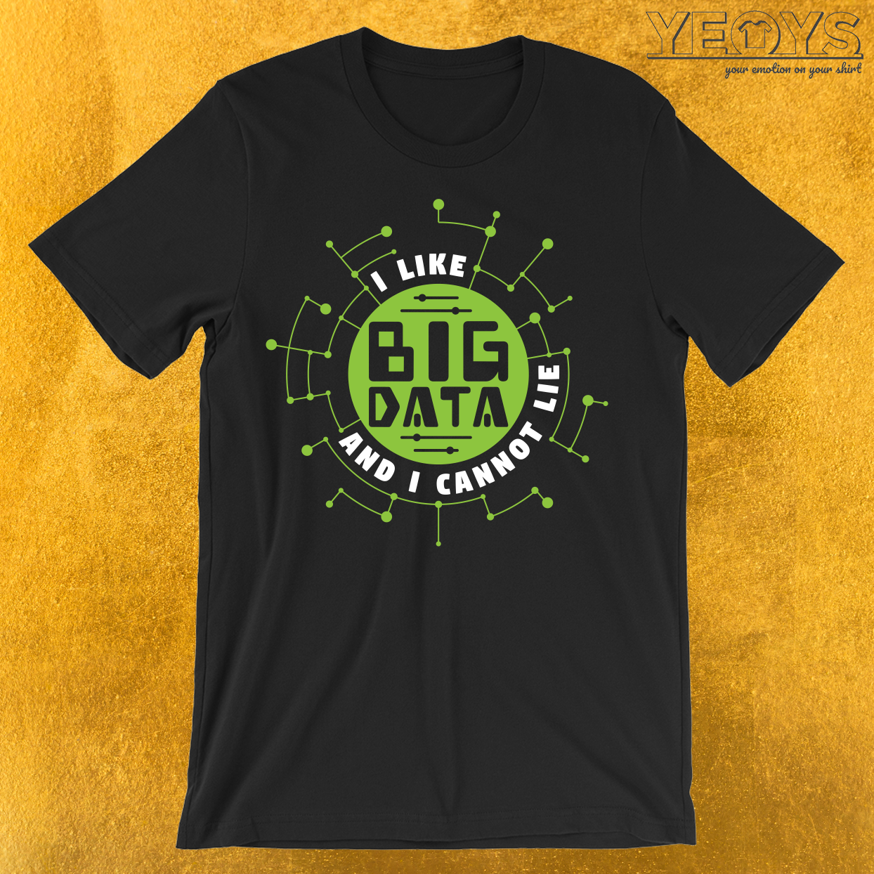 I Like Big Data And Cannot Lie T-Shirt