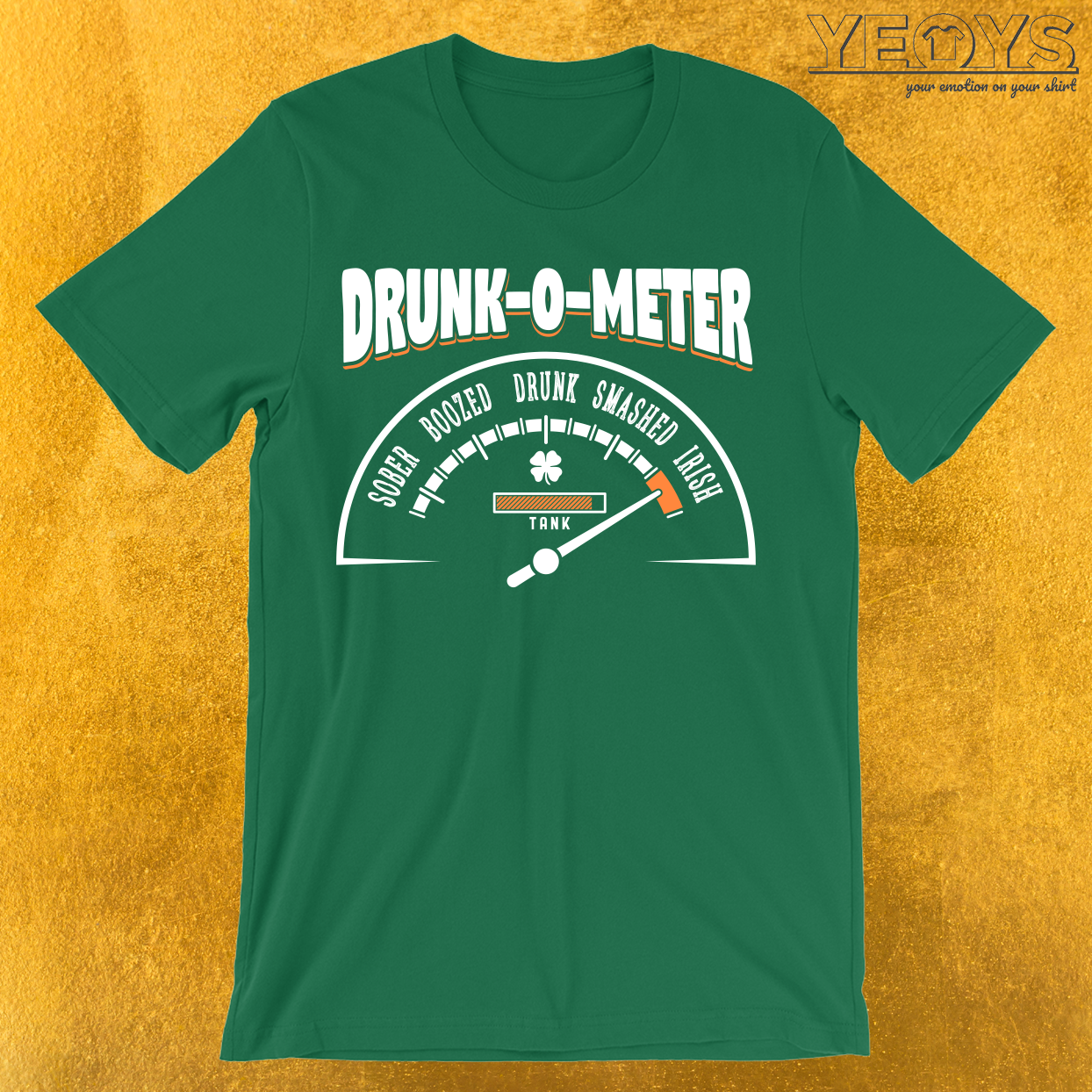 Irish Drunk-O-Meter T-Shirt