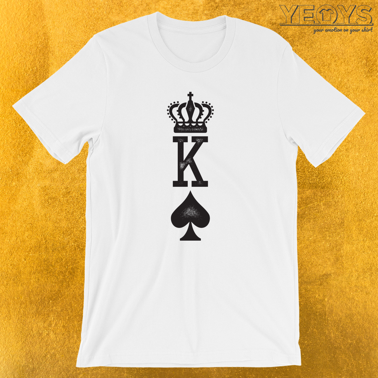 King Couples Tattoo T-Shirt