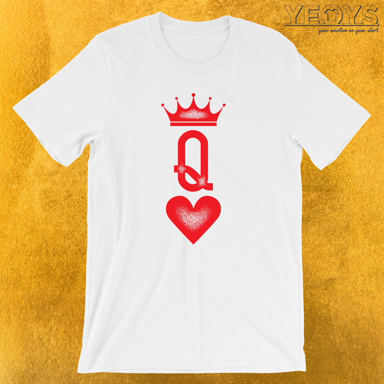 Queen Couples Tattoo T-Shirt