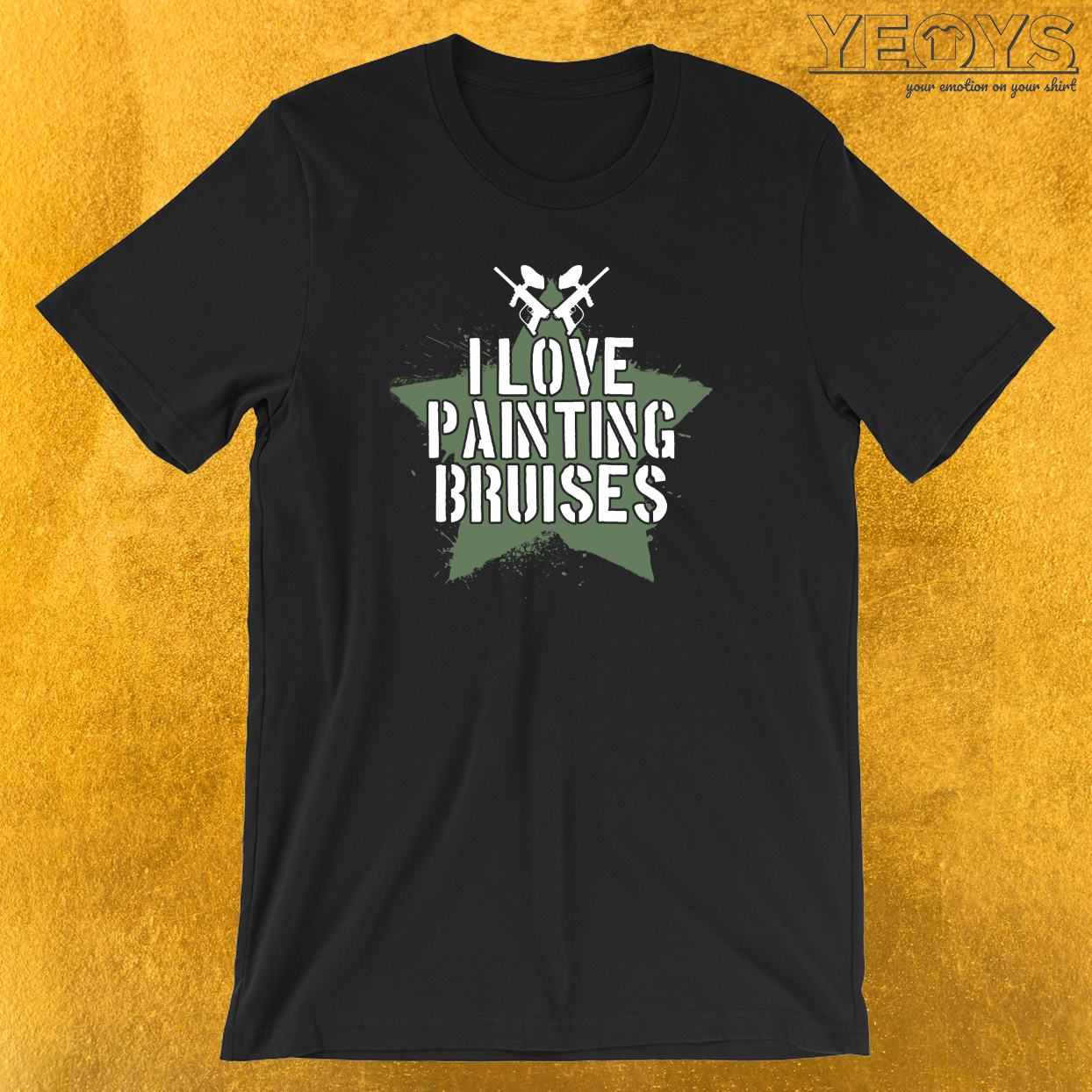 I Love Painting Bruises T-Shirt