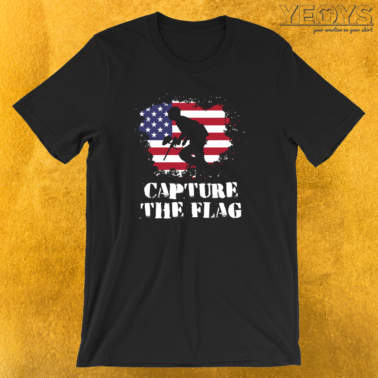 Capture The Flag T-Shirt