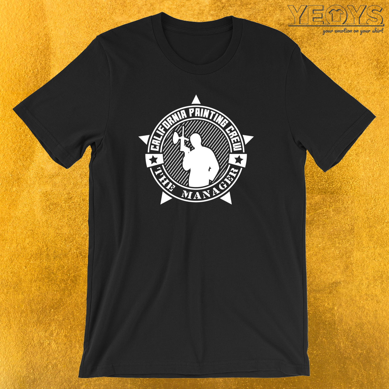 California Painting Crew The Manager T-Shirt