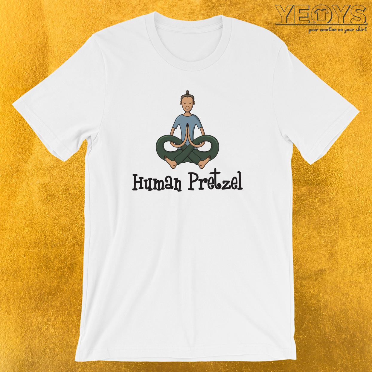 Human Pretzel T-Shirt