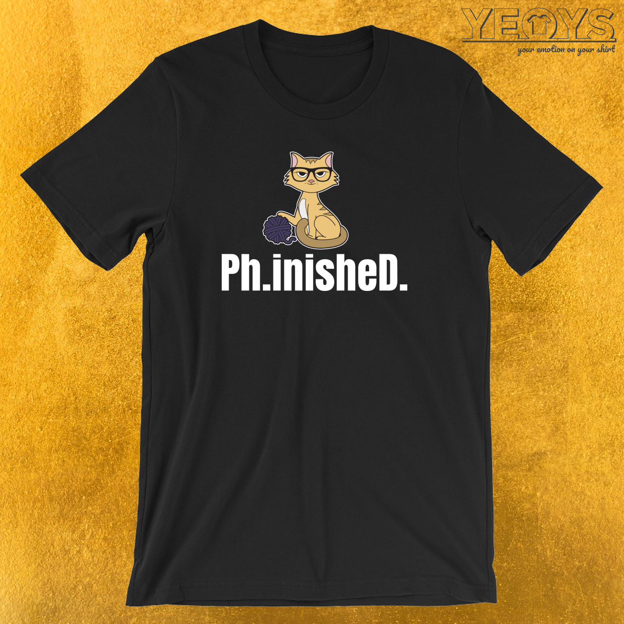 Finished Ph.D. T-Shirt