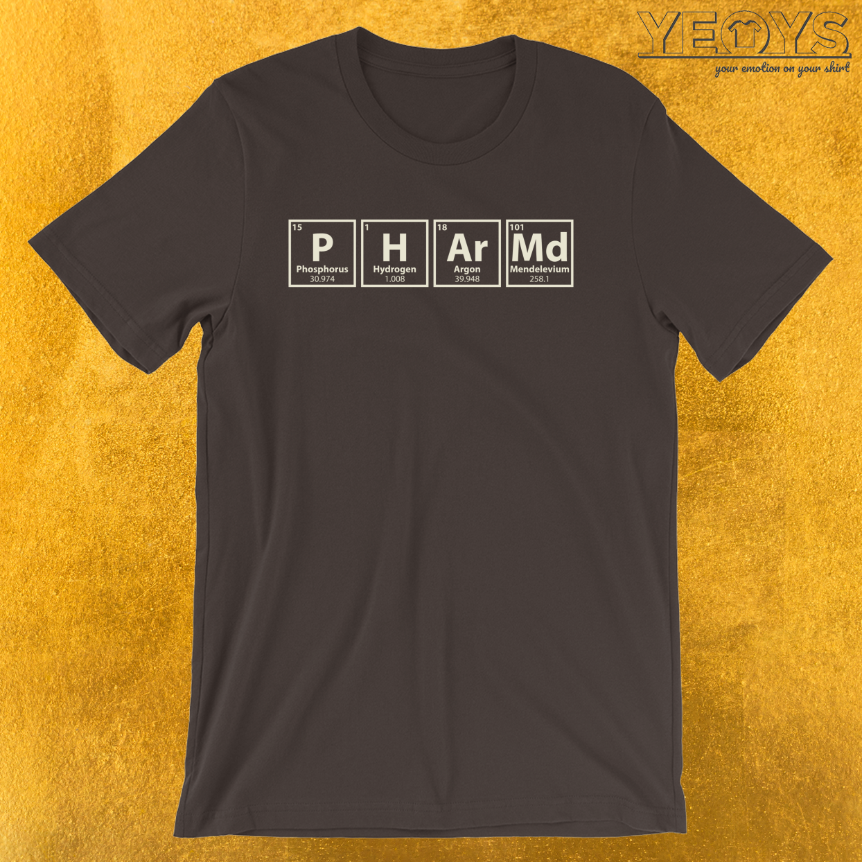 Pharm.D. Chemical Elements – Graduation Quotes Tee