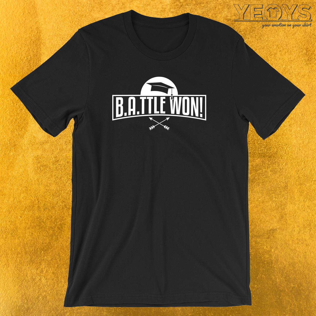 Battle Won T-Shirt
