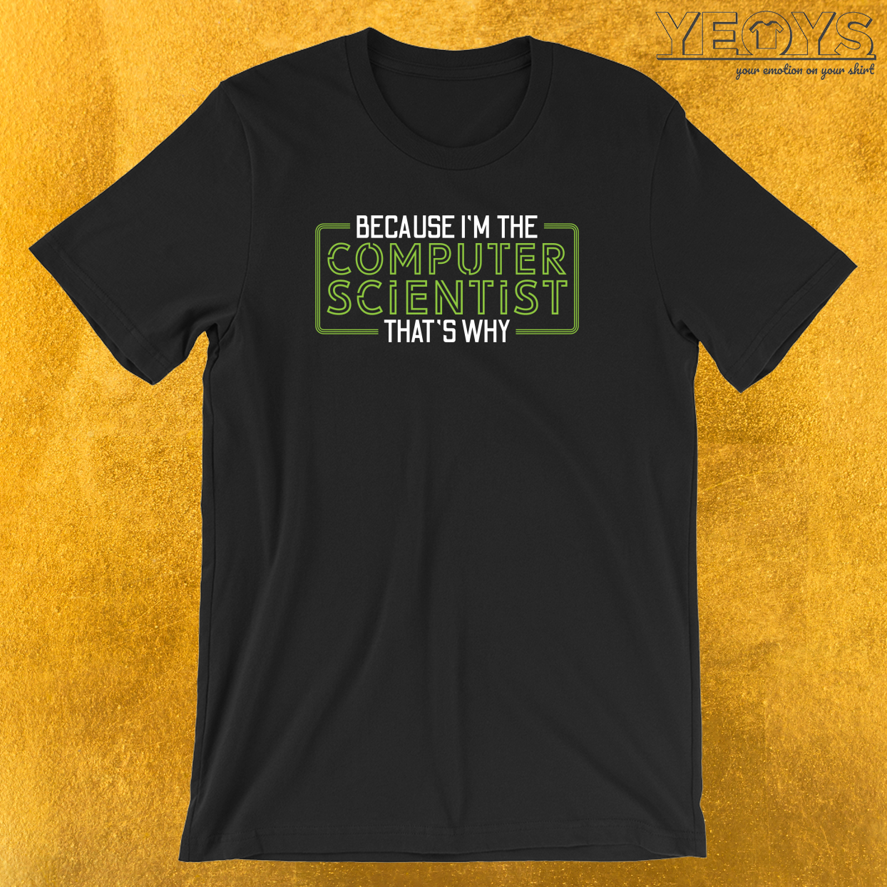Because I'm The Computer Scientist That's Why T-Shirt