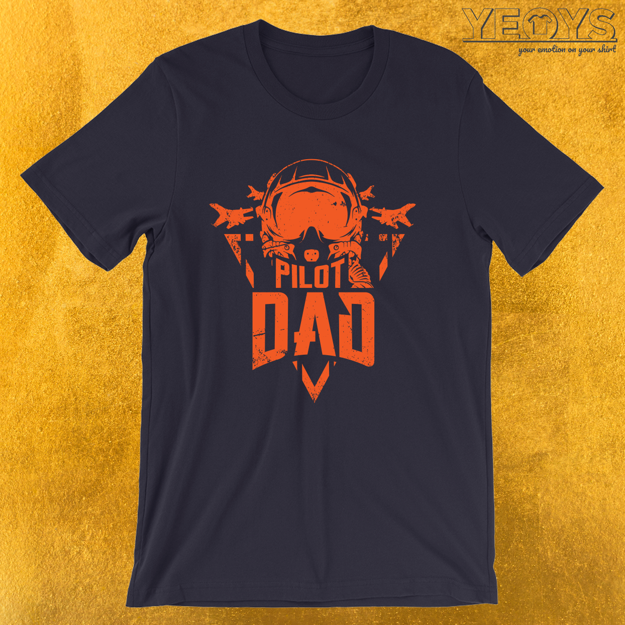 Pilot Dad Aviation Father – Funny Aviation Quotes Tee