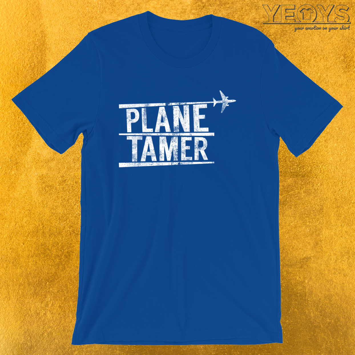Plane Tamer – Funny Aviation Quotes Tee