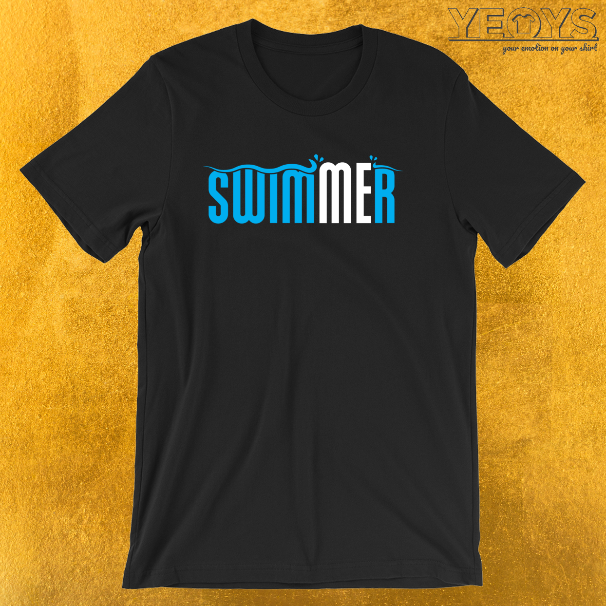 Swimmer – Swimming Pun Tee