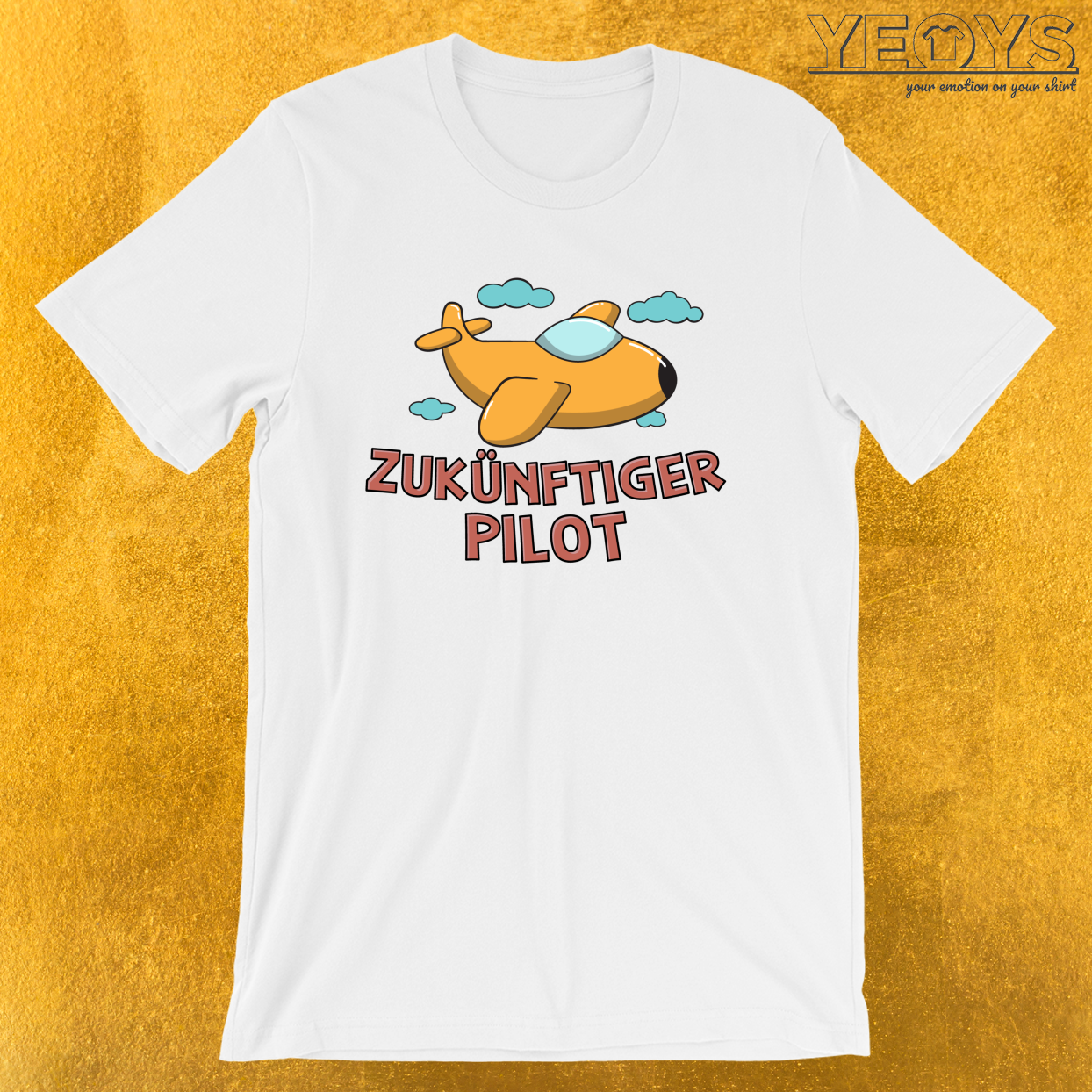 Zukünftiger Pilot – Lustiges Piloten Tee
