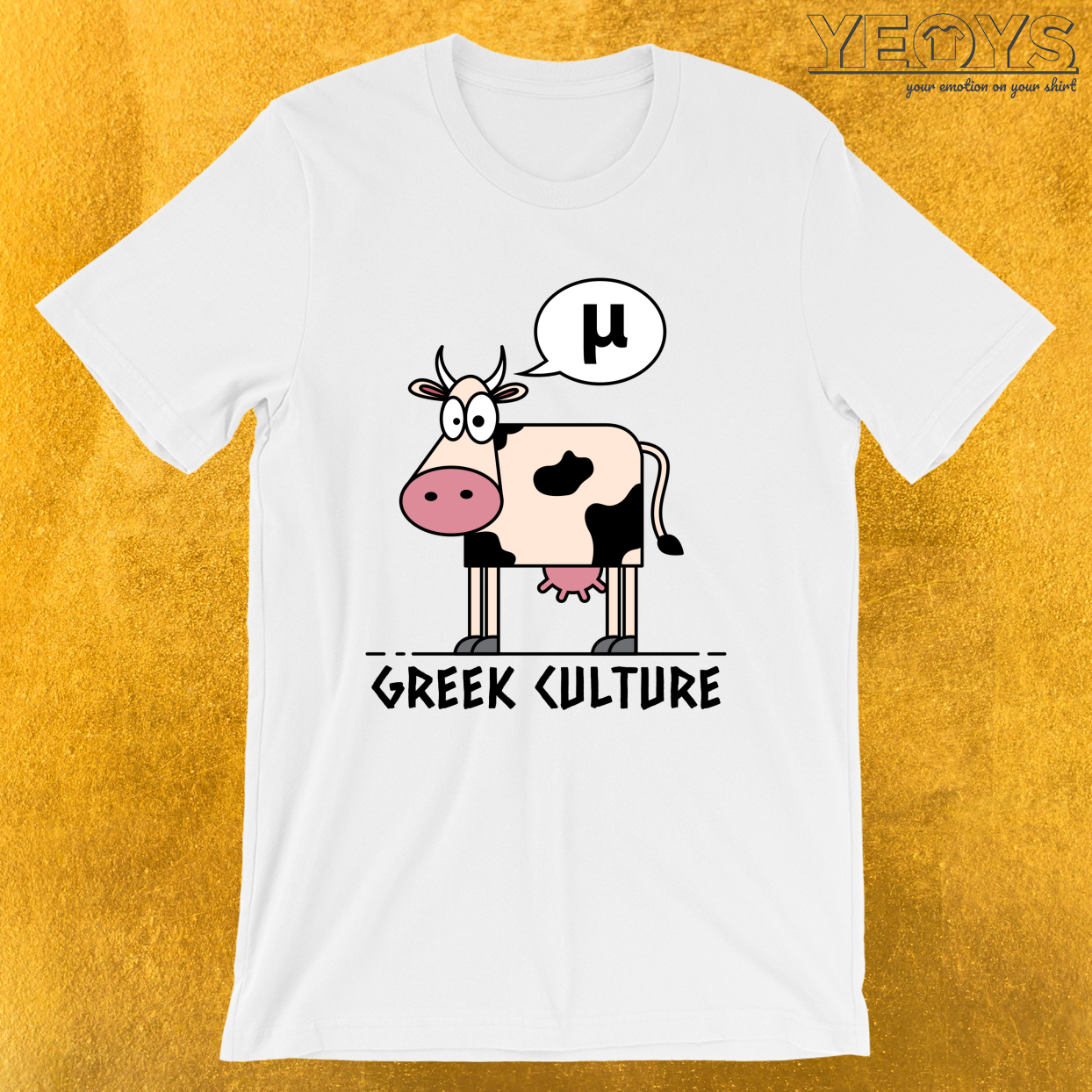 Greek Culture – Greek History Science Pun Tee