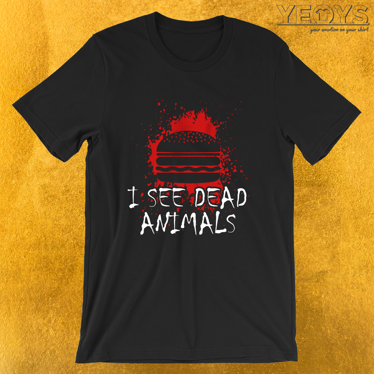 I See Dead Animals – Funny Horror Movie Tee