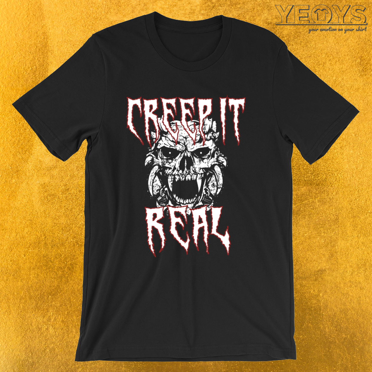 Creep It Real – Satan Tee
