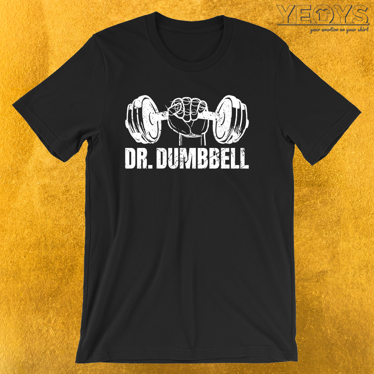Weightlifting – Dr. Dumbbell Tee