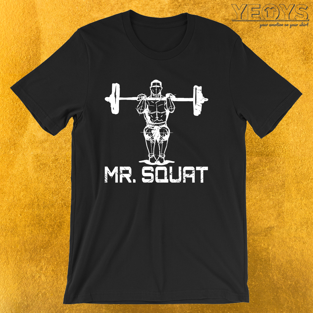 Mr. Squat – Squating Tee