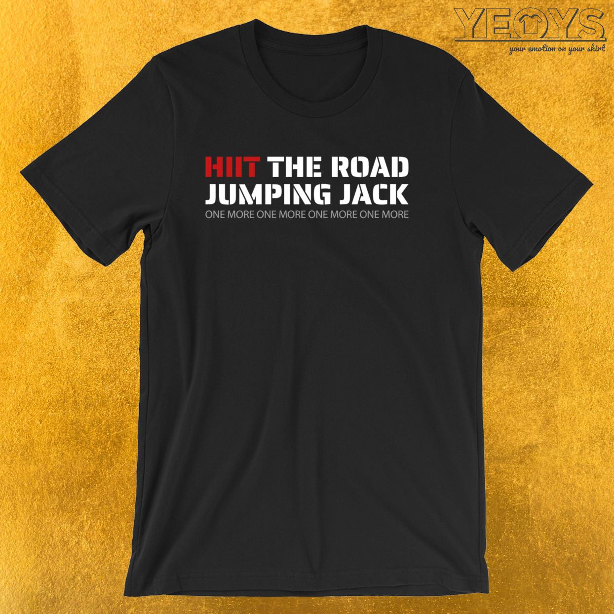 Hiit The Road Jumping Jack – Hiit Cardio Tee