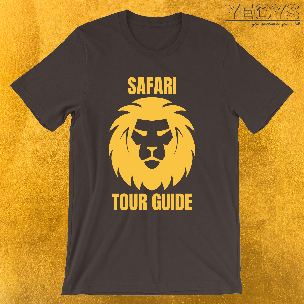Safari Tour Guide – Cool Safari Guide Tee