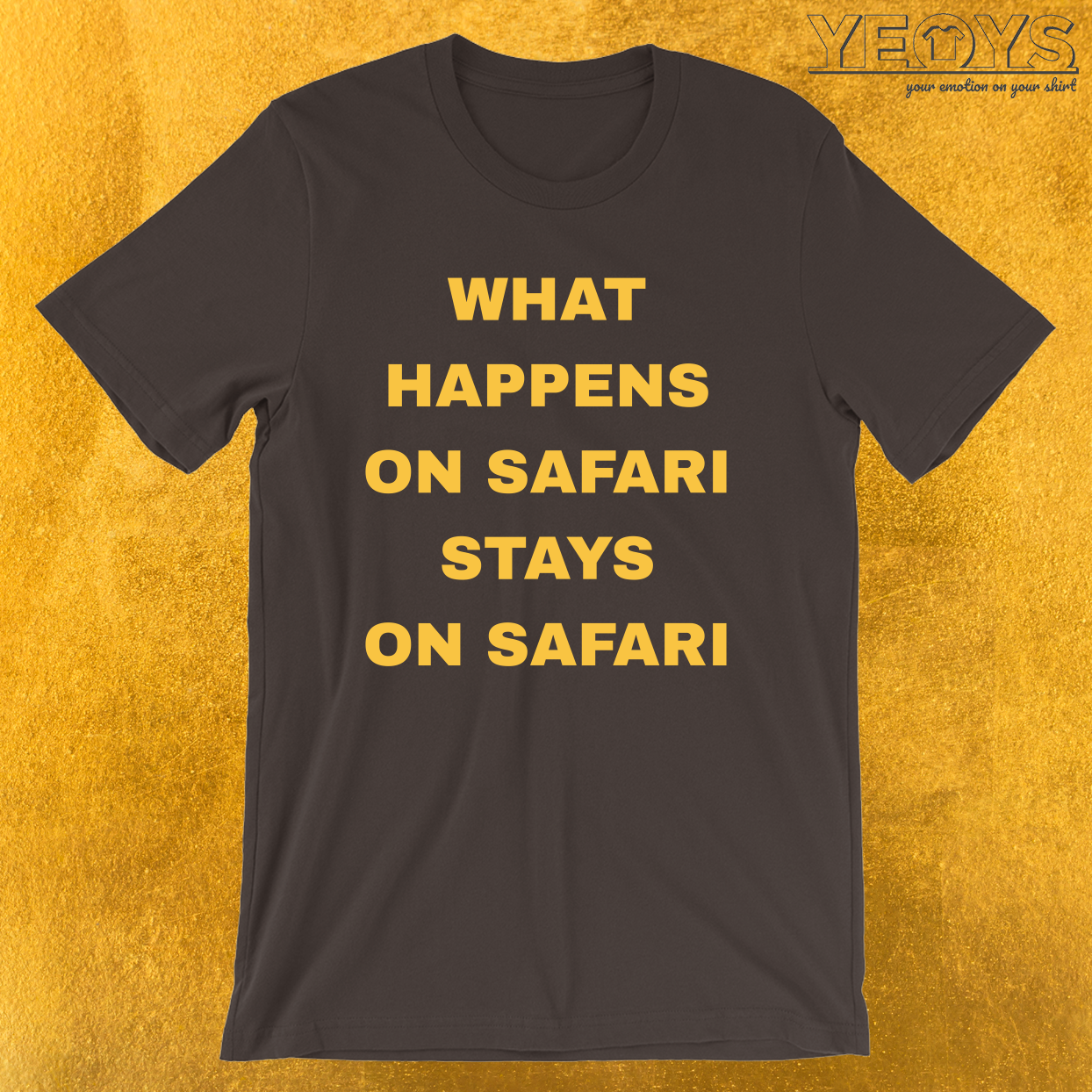 What Happens On Safari – Funny Safari Tee