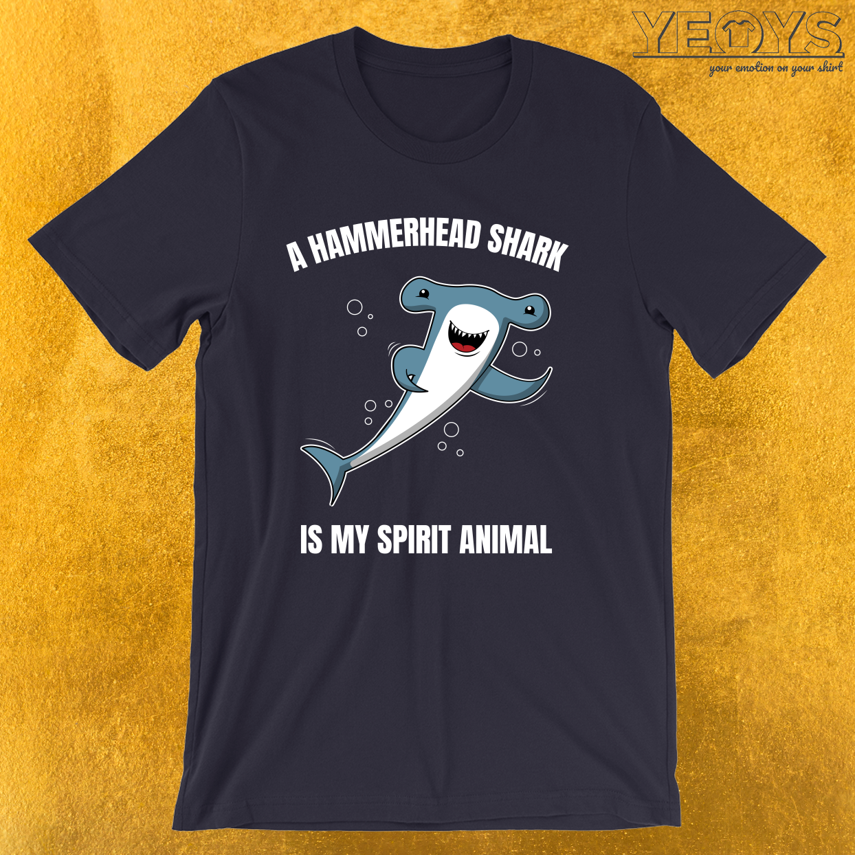 Hammerhead Is My Spirit Animal – Hammerhead Shark Tee