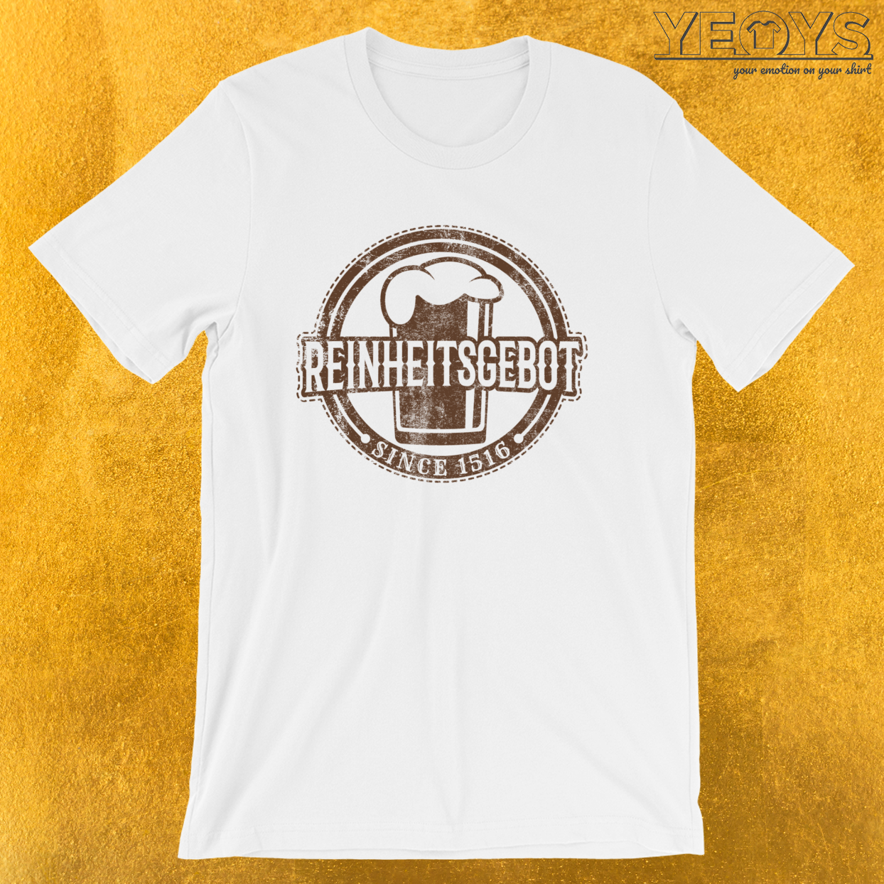 Reinheitsgebot Since 1516 – Craft Beer Tee