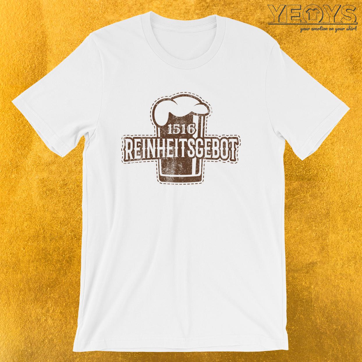 Craft Beer – 1516 Reinheitsgebot Tee