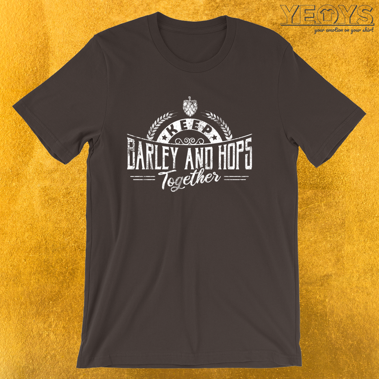 Keep Barley And Hops Together – Reinheitsgebot Tee